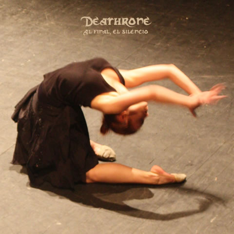 Deathrone - In the end, the silence (EP) Cover